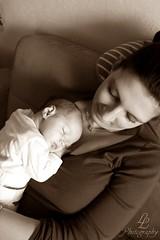 Mummy's little Girl. (LissyLoveless!) Tags: sleeping baby girl sepia happy little sleep mum babygirl littlegirl mummy