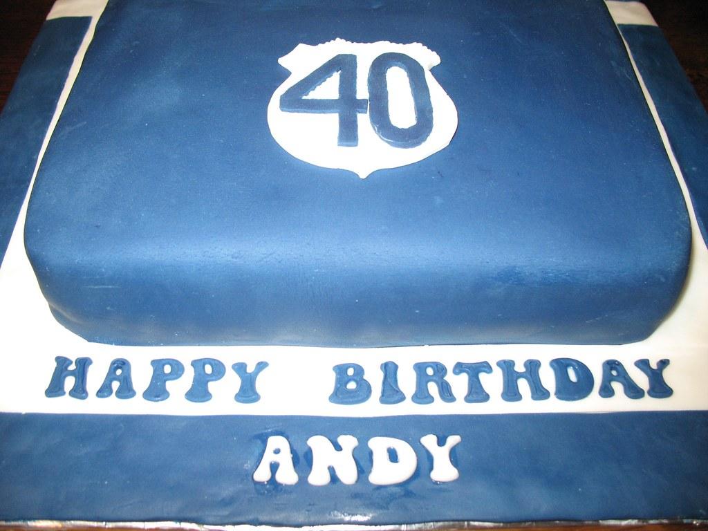 40th Birthday Cake For An Everton Fan Ruthashworth1 Tags Man Male