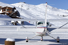 "Courchevel LFLJ (Guido ""Weedo"" Benedetto) Tags: winter mountain ski france alps cold canon fly flight explore helicopter luxury heli courchevel altiport lflj guidobenedetto"