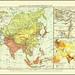 3207 Erde Jahr year 1901 Asien, Politische übersicht Die Erde und ihre Völker Ein geographisches Hausbuch von Friedrich von Hellwald Stuttgart Berlin Keipzig Union Deutsche Varlagsgesellschaft