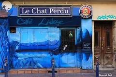 O est le Chat ? (Bernard Bost) Tags: caf canon marseille tag paca provence 2014 bouchesdurhne coursjulien
