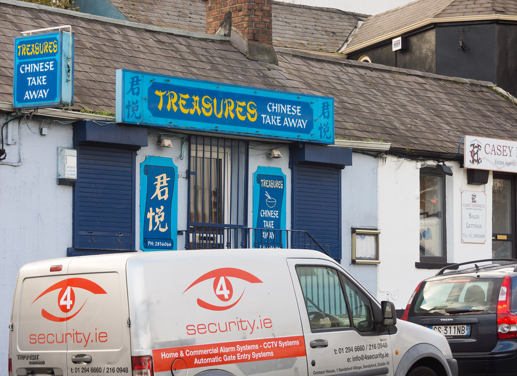 Treasures Chinese Restaurant Stillorgan Ref-100102