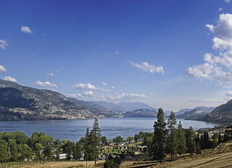 Skaha Lake as seen from Skaha Hills