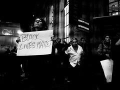 Black Lives Matter (jeffm211) Tags: sanfrancisco sign night protest marketstreet frankchu powellstreet