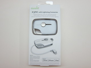 Moshi Xync with Lightning Connector
