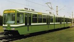 SMLT Tramset of class M100 (Franky De Witte - Ferroequinologist) Tags: de eisenbahn railway estrada streetcar tramway chemin fer strassenbahn spoorwegen ferrocarril ferro ferrovia     tramlijn