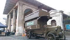 Poppy Day Appeal  - Covent Garden Piazza (London Transport Museum) Tags: bus london conservation restoration ww1 btype londontransportmuseum aec lgoc b2737