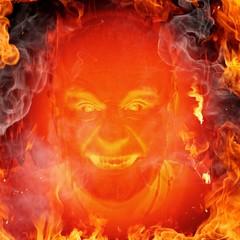 Fire (Leo Reynolds) Tags: webthing photofunia xleol30x xxx2014xxx