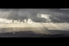 South Lakes (JoshJackson84) Tags: uk sun lake europe lakes lakedistrict cine cumbria sunbeam beams irishsea canon60d sigma18250mm
