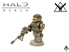 Halo Reach: Jun (KalSkirata.) Tags: amazing lego halo reach minifig custom armory jun spartan eclipsegrafx
