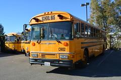 C6, C7, C19, C9002 - DSC_0896 (crown426) Tags: california bluebird schoolbus santaana aare allamerican crowncoach supercoach certifiedtransportation