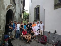 foto di gruppo a Morbegno