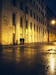 (miemo) Tags: street travel winter people wet night stpetersburg europe russia olympus rainy omd em5 panasonic1235mmf28