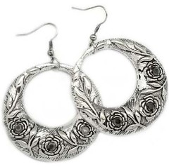 5th Avenue Silver Earrings P5210-2