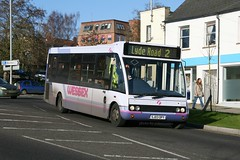 First 50467 SJ03 DPY (johnmorris13) Tags: bus first solo optare 50467 sj03dpy