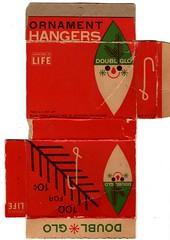 Ornament Hangers (Calsidyrose) Tags: christmas art illustration vintage design font typeface grapic vintageretro epherama