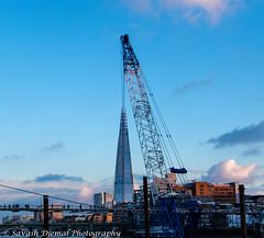 Ok Guys, Leave it just there. DSC_3465.jpg (Sav's Photo Gallery) Tags: city uk london crane milleniumbridge shard forcedperspective d7000 savash