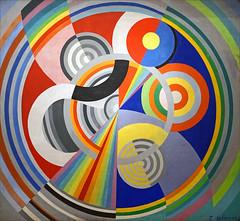 Rythme n°1 (Musée d'art moderne de la ville de Paris) (dalbera) Tags: abstraction mam artmural rythme muséedartmodernedelavilledeparis robertdelaunay dalbera orphisme simultanéisme