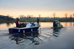 (Sam Tait) Tags: mill work river boat pond trent belle tug narrow cruiser narrowboat mersey soar tuggy pusher tuggybelle
