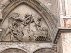 Ferrara (fulvio timossi) Tags: italia cathedral roman madonna saints emilia inferno ferrara duomo santi romanico cattedrale gotico facciata giudiziouniversale dannati goticoromanico