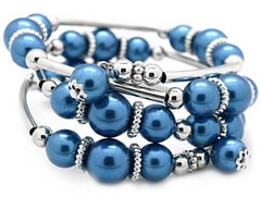 Glimpse of Malibu Blue Bracelet P9510-3 (2)