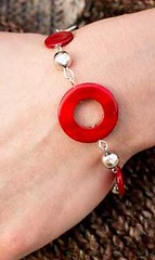 Sunset Sightings Red Bracelet K1 P9710A-5