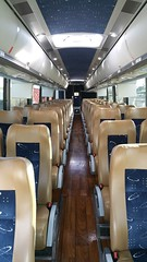 Inside of one of Ebmeyer Charters many buses.  This is a top of the line, brand new, MCI J4500! (ebmeyerchartpix) Tags: california bus mci charterbus j4500 ebmeyer ebmeyercharter ebmeyerbusinside ebmeyerbuses
