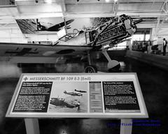 A BF 109 E3 WITH ITS COWLING REMOVED TO SHOW OFF A DAIMLER-BENZ DB 601 (AvgeekJoe) Tags: blackandwhite bw plane airplane blackwhite aircraft aviation engine warbirds warbird bf109 warplane bf109e messerschmitt luftwaffe me109 fhc messerschmittbf109e3 flyingheritagecollection db601 me109e daimlerbenzdb601 aircraftpowerplant
