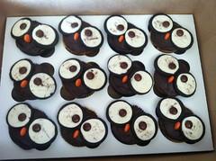 Owl cupcakes by Victoria, Santa Cruz,CA, www.birthdaycakes4free.com