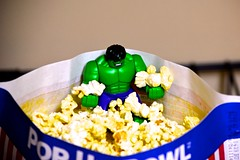 Day 15 - Lego Hulk Decides His Favourite Part About Movie Nights is the Snacks (markbernards_1year_project) Tags: green comics toy lego anger rage popcorn angry superhero assemble snacks superheroes hulk marvel marvelcomics avengers movienight incrediblehulk comicbookcharacters avengersassemble legohulk legoavengers toysinreallife legoavengersassemble