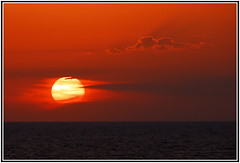 Dreaming (petrk747) Tags: cruise sunset red sea sky sun clouds heaven mediterranean cloudscape mediterraneansea saariysqualitypictures