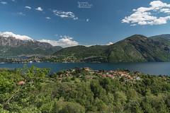 Panorama sulla Tremezzina, Lago di Como (Riccardo Croci Torti) Tags: panorama cloud verde landscape lago hotel cielo comolake lagodicomo tremezzo selve rogaro libert