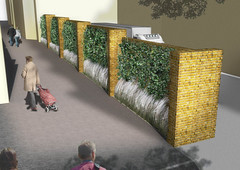 Chequers Court Huntingdon Public Realm Landscape Architect Visualisation (London Landscape Architects) Tags: architecture landscape design render architect visualisation