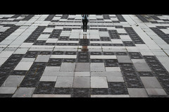 -HEAD MISSING- (deboralph) Tags: city art rain square photography symmetry bulgaria