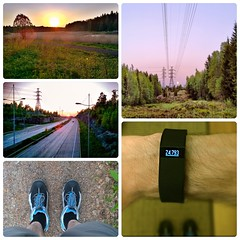 Goal Day 2016 (timo_w2s) Tags: sunset finland spring helsinki shoes vuosaari mustavuori fitbit keha3 chargehr