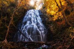 Crabtree Falls (lorne adams) Tags: travel other fallcolors waterfalls blueridgeparkway crabtreefalls