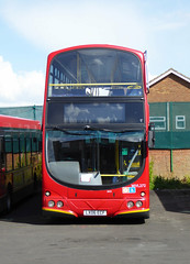 GAL WVL272 - LX06ECF - FRONT - BX BEXLEYHEATH BUS GARAGE - WED 27TH APRIL 2016 (Bexleybus) Tags: bus london ahead eclipse volvo kent garage go commercial fleet gemini bexleyheath bx goahead wrightbus lx06ecf wvl272