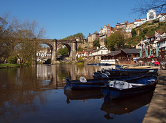 2016_04_0269 (petermit2) Tags: river boat yorkshire railway viaduct knaresborough northyorkshire rowingboat grainger rivernidd thomasgrainger