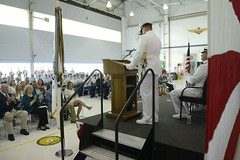 Air Station Atlantic City change of command (Coast Guard News) Tags: coastguard us newjersey unitedstates aviation ceremony atlanticcity tradition command southjersey protocol uscg