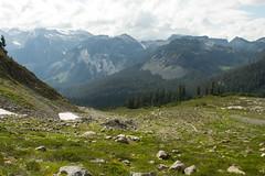 Hikers on the Serpentine Trail (jpmckenna - Northern Plains Tour Coming Up) Tags: hiking northcascades getoutside hikingwashington washingtontrails lakeanntrail mtbakernationalrecreationarea mypubliclands