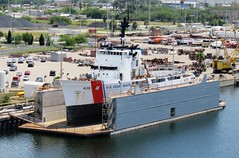 USCGS Venturous 625 (Hear and Their) Tags: tampa bay coast dock florida united guard floating dry states ybor cutter channel