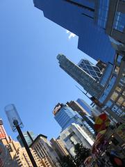 IMG_0772.jpg (PamelaVWhite) Tags: nyc newyorkcity architecture canon buildings blueskies columbuscircle timewarnerbuilding blue powershot skies pamelavwhite sx710 sh