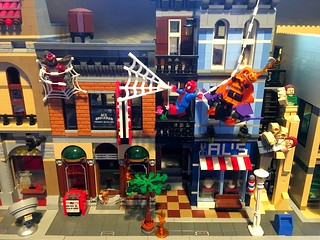 Updated LEGO Spiderman Scene