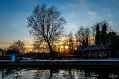 Abendstille (SK snapshots) Tags: blue sunset sky reflection nature water abend sonnenuntergang natur himmel blau hafen ostsee spiegelung mrz stille abendstimmung abendstille sksnapshots