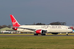 G-VNEW Boeing 787 Virgin Atlantic (GSairpics) Tags: travel training airplane scotland flying airport aircraft aviation transport flight jet aeroplane airline boeing airliner prestwick pik ayrshire jetliner b787 dreamliner egpk crewtraining b789 gvnew
