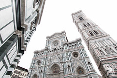 White Florence (andrea.prave) Tags: toscana tuscany toscane toskana     florencia florence     florenz italia italy      italie italien cattedraledisantamariadelfiore cattedrale duomo battistero battisterodisangiovanni cathedral catedral cathdrale    kathedraal kathedrale marmo bianco piazzadelduomo campanile giotto
