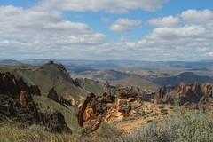 Our reward for all that climbing (rozoneill) Tags: lake oregon river carlton butte desert hiking painted canyon vale trail backpacking saddle blm uplands owyhee honeycombs