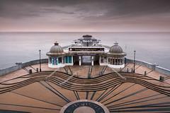 Cromer Pier Dawn (sophiaspurgin) Tags: building architecture sunrise dawn pier symmetry cromer