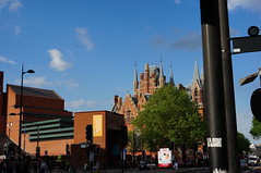 St Pancras and the British Library (sflangridge) Tags: london stpancras britishlibrary aphotoaday