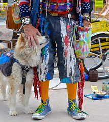 Moment of Affection (suenosdeuomi) Tags: dog newmexico santafe nikon servicedog dawson niftyfifty nikond5100 raymasterson